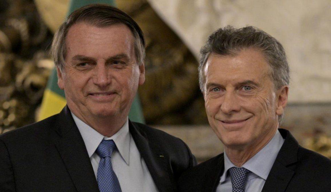 Macri visitará a Bolsonaro en su último viaje internacional como presidente
