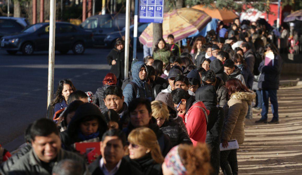 En un año, el empleo privado cayó un 4,2 % en Jujuy