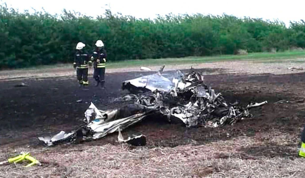 Dos empresarios muertos tras caer una avioneta en Santa Fe