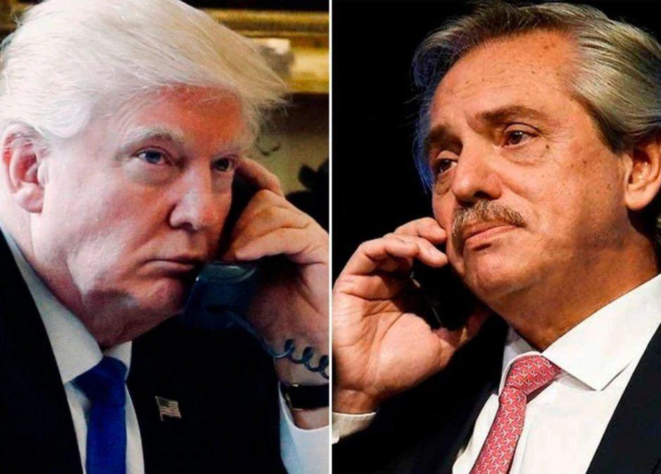 Trump llamó a Alberto Fernández: usted va a hacer un trabajo fantástico