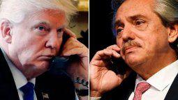 altText(Trump llamó a Alberto Fernández: