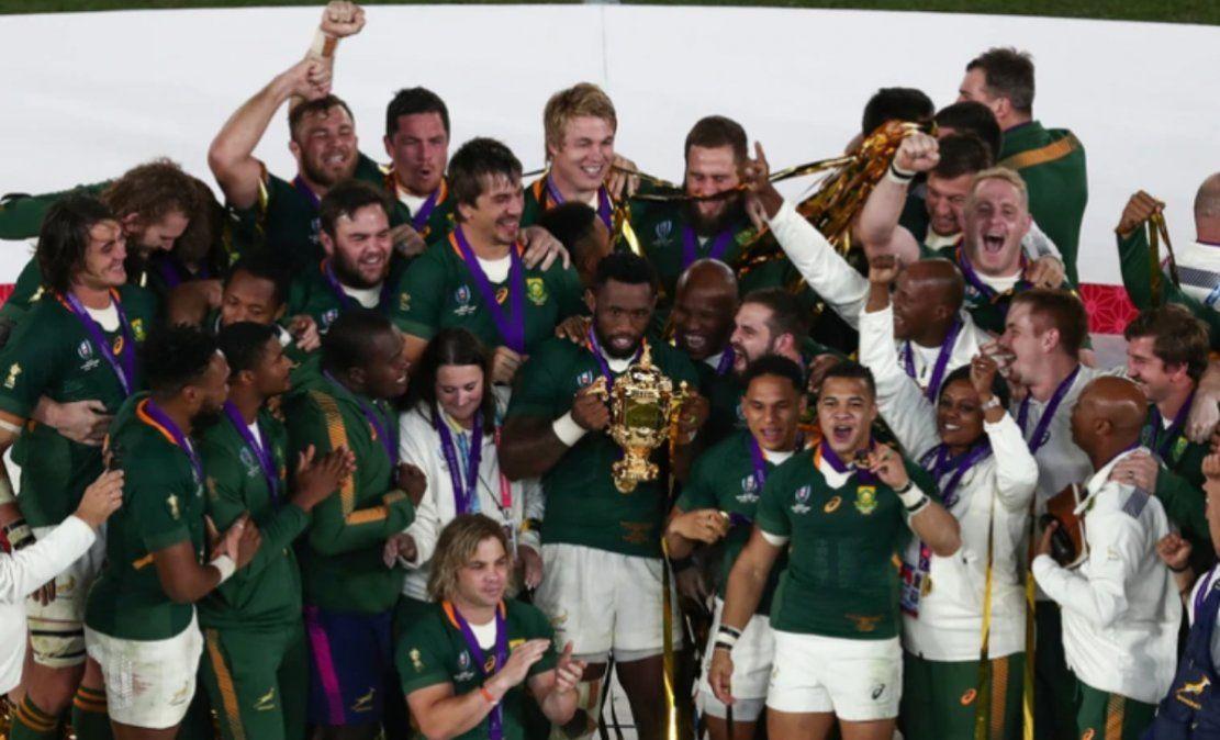 Sudáfrica venció a Inglaterra y se proclamó campeón
