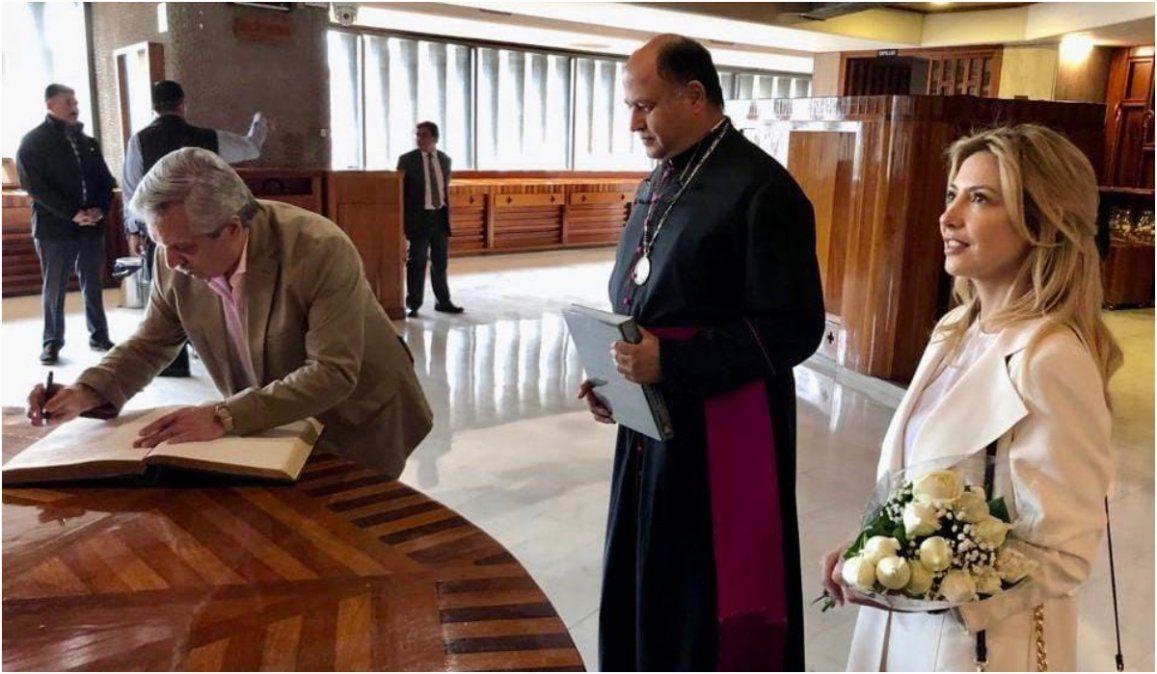 Alberto Fernández: Le pedí a la Virgen de Guadalupe que nos ayude