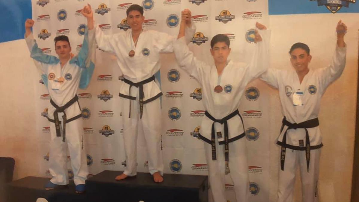 Jujuy obtuvo 4 medallas de oro en el Panamericano de Uruguay