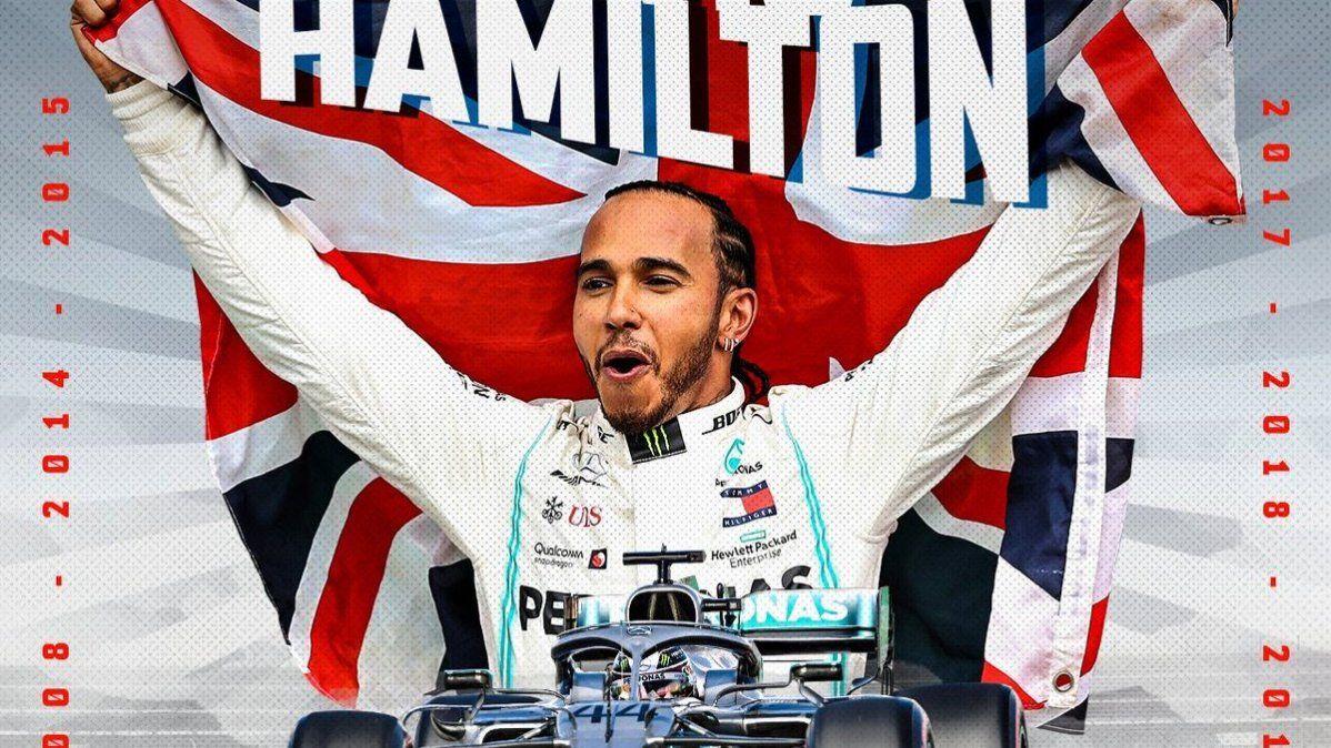 Hamilton logró su sexto título de Fórmula 1