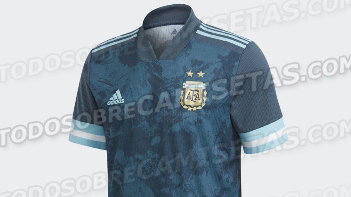 Se filtró la nueva camiseta alternativa de la Selección Argentina