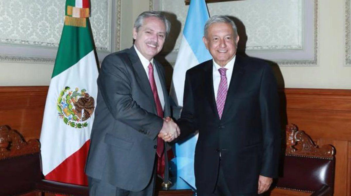 Alberto Fernández se reunió con el presidente mexicano para fortalecer relaciones