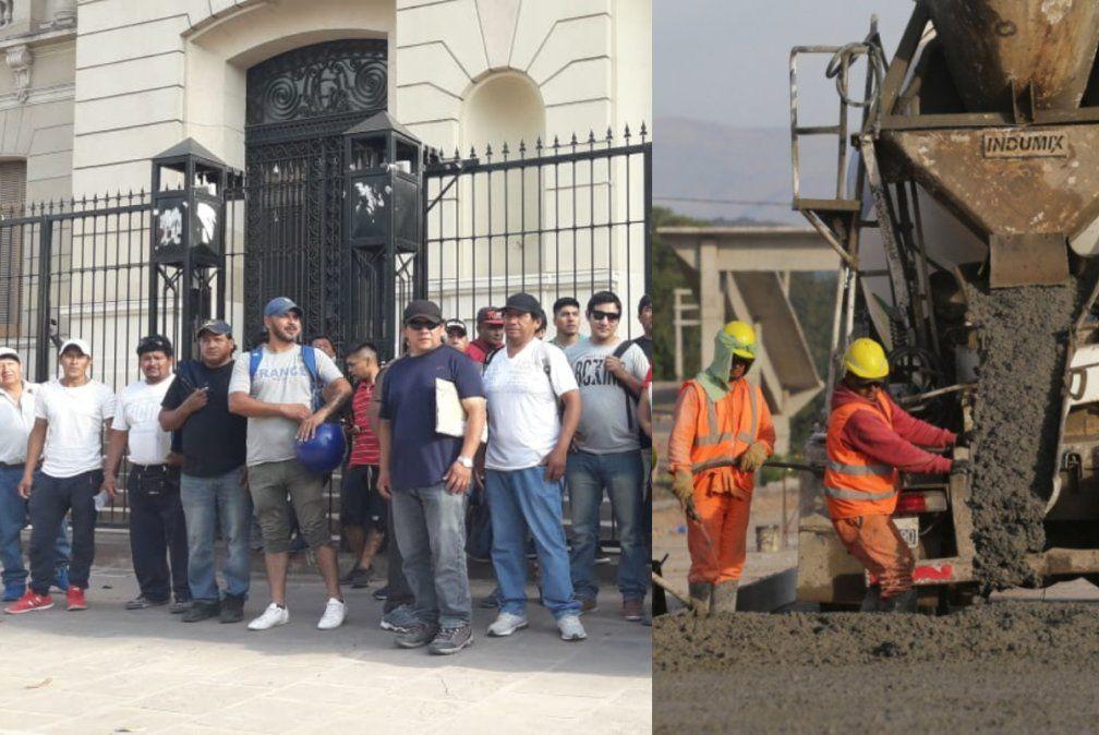 Crisis en la construcción: Obreros reclaman por pagos adeudados