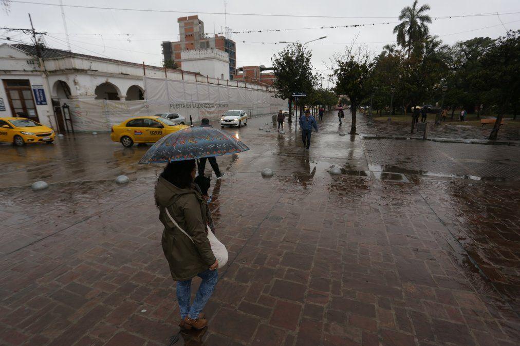 La lluvia se mantendría durante toda la semana