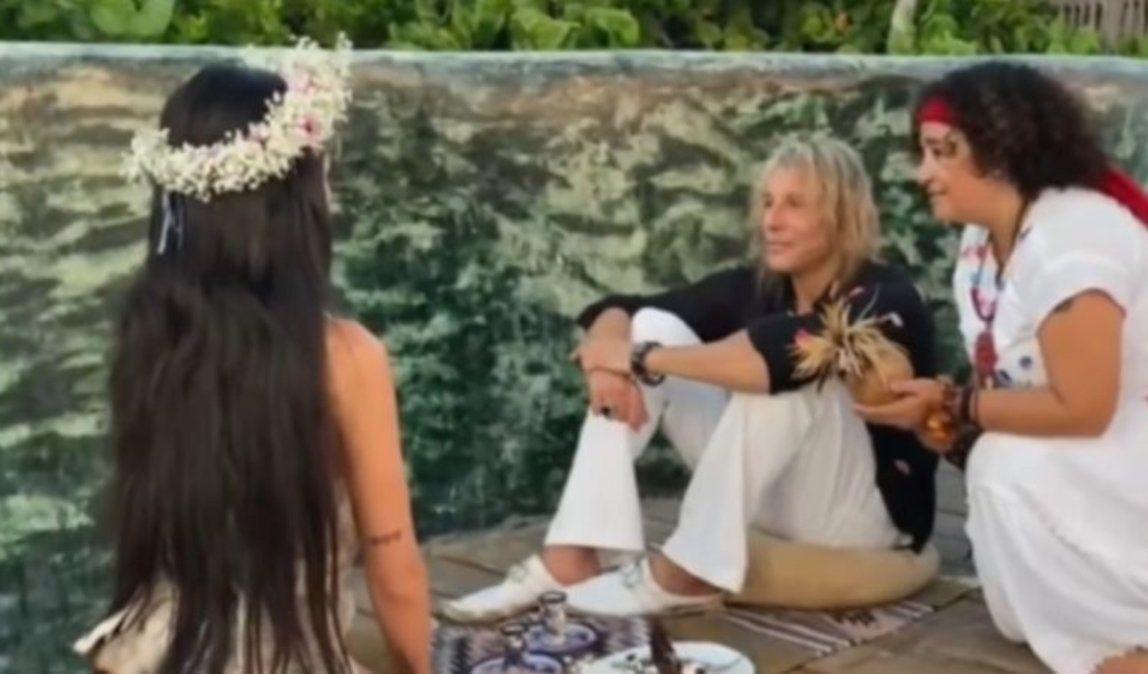 Ritual en Tulum: así fue el compromiso de Claudio Caniggia y Sofía Bonelli