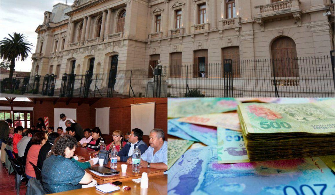 La pelea de los estatales: inflación 37% - aumentos 30%