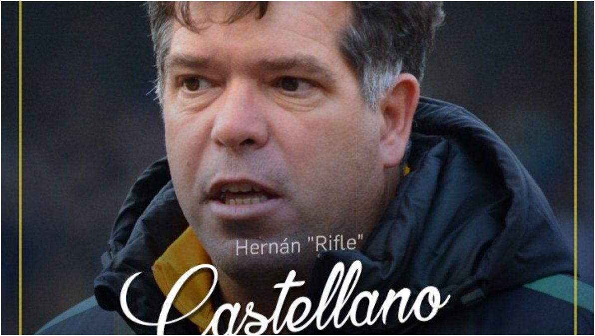 Luego de superar un cáncer, Hernán Castellano se sumó al plantel de Central