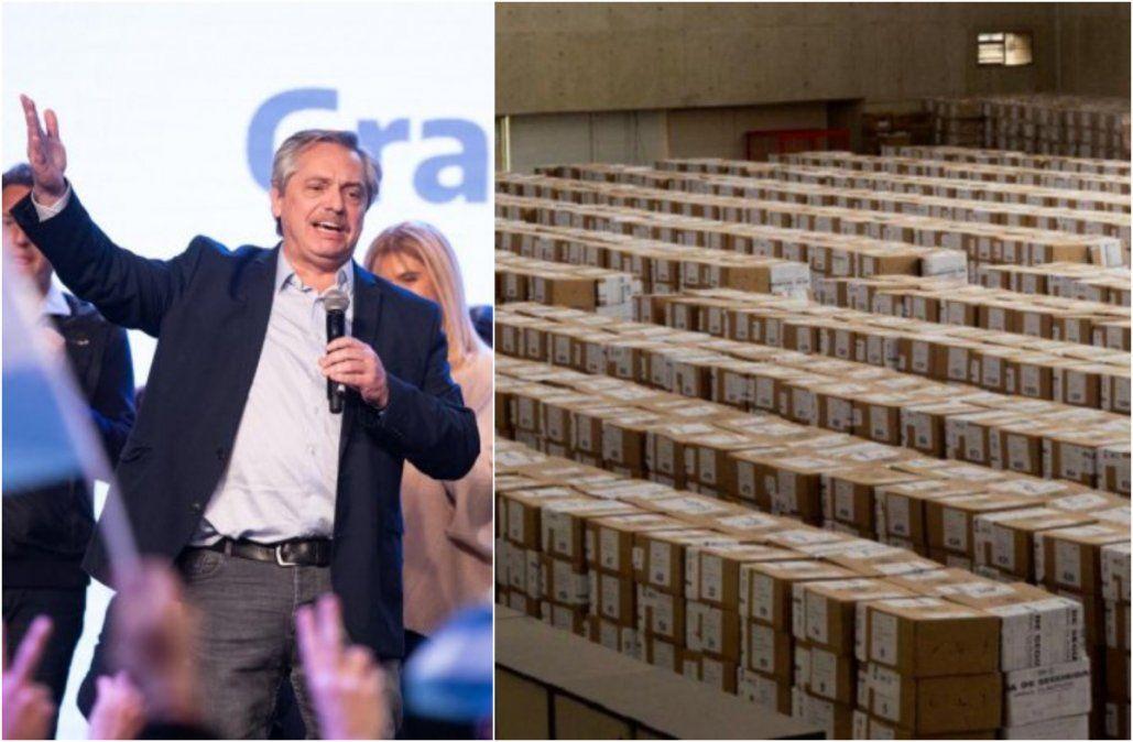 Terminó el escrutinio definitivo en todo el país: Fernández le ganó a Macri por 8 puntos
