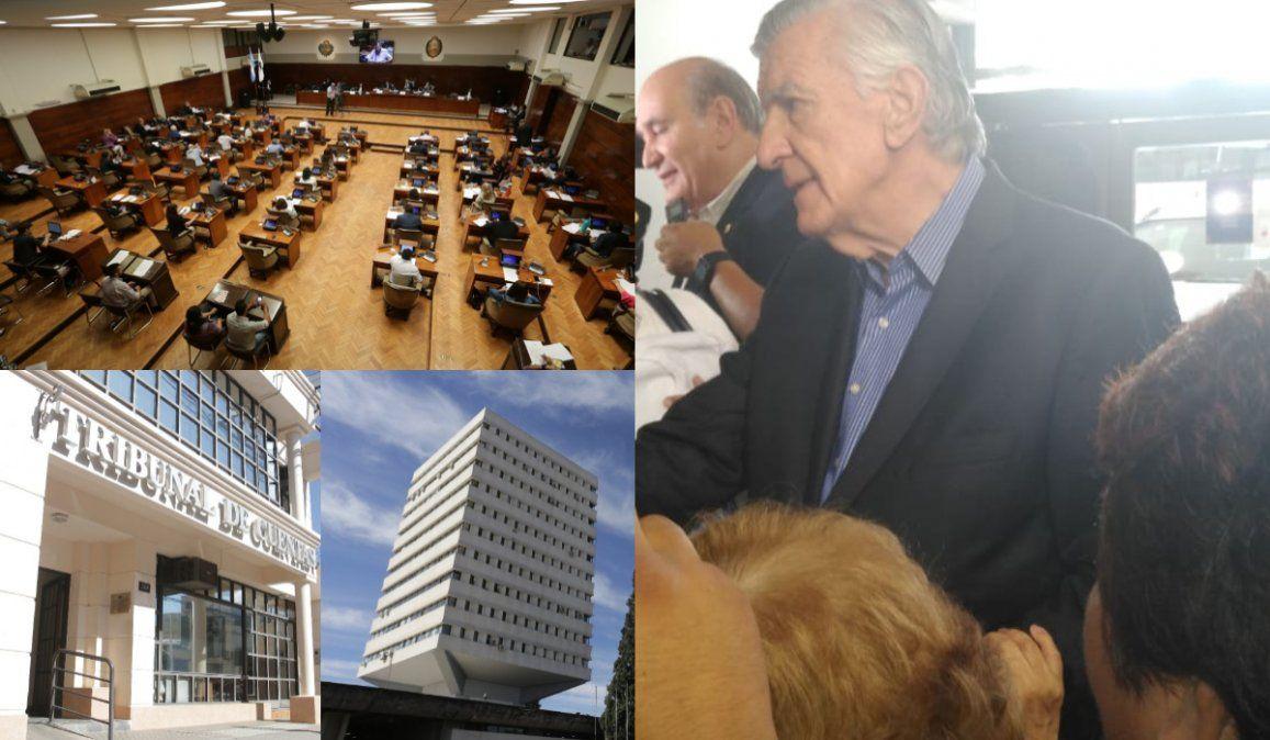 Teléfono para Rivarola: Gioja pidió un freno a los juicios políticos en Jujuy