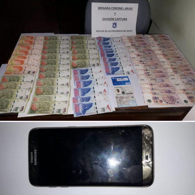 Lo atraparon vendiendo un celular robado en redes sociales