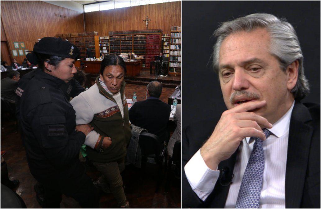 Alberto Fernández aseguró que Milagro Sala está detenida ilegalmente