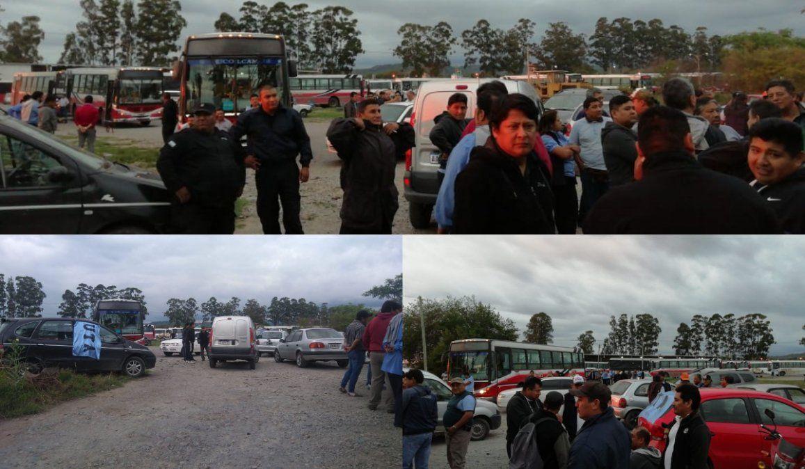 Choferes de Unión Bus suspendieron el servicio por falta de pagos