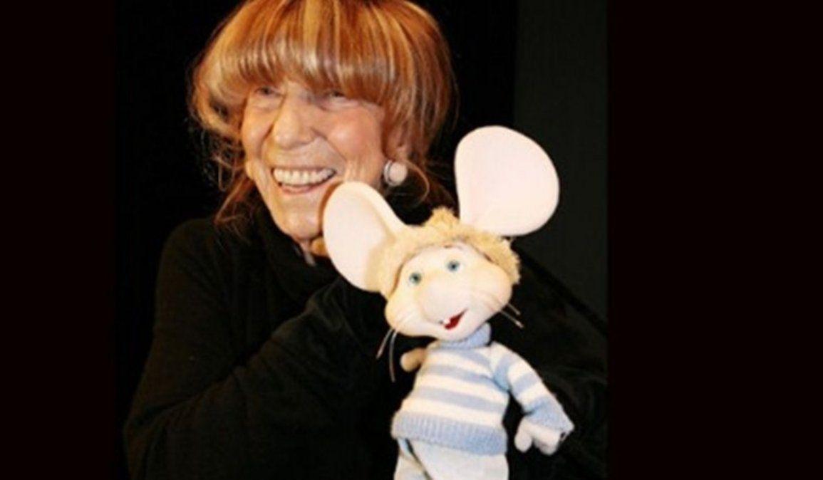 Falleció María Perego, la mamá del Topo Gigio