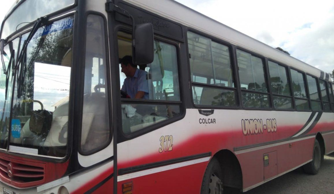 Unión Bus: choferes suspendieron la medida y se reanuda el servicio