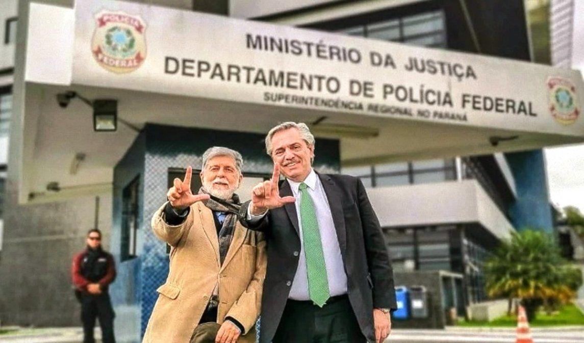 Lula estaría en la asunción de Alberto Fernández