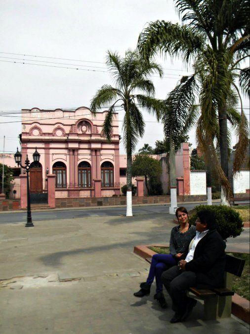 El Carmen y su casco histórico