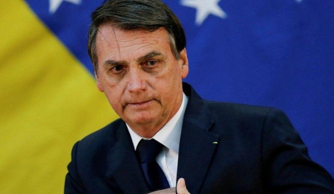 Bolsonaro tildó de canalla a Lula y aseguró que es culpable