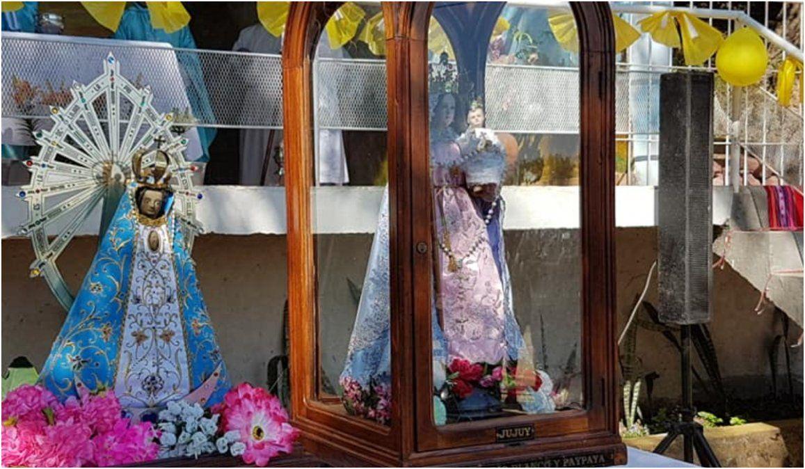Procesión, misa y cierre musical en la Fiesta Patronal de la Virgen de Río Blanco