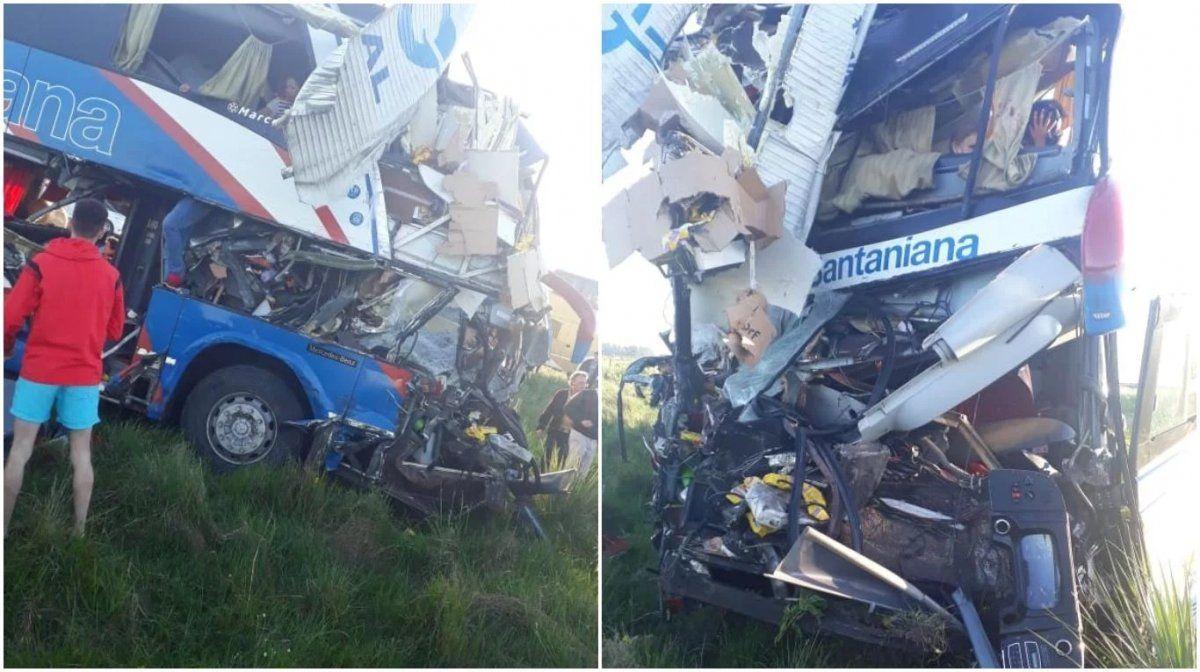 Terrible accidente en Gualeguaychú: cuatro muertos y decenas de heridos