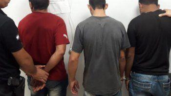 Tres detenidos y dos motos secuestradas en operativos del fin de semana