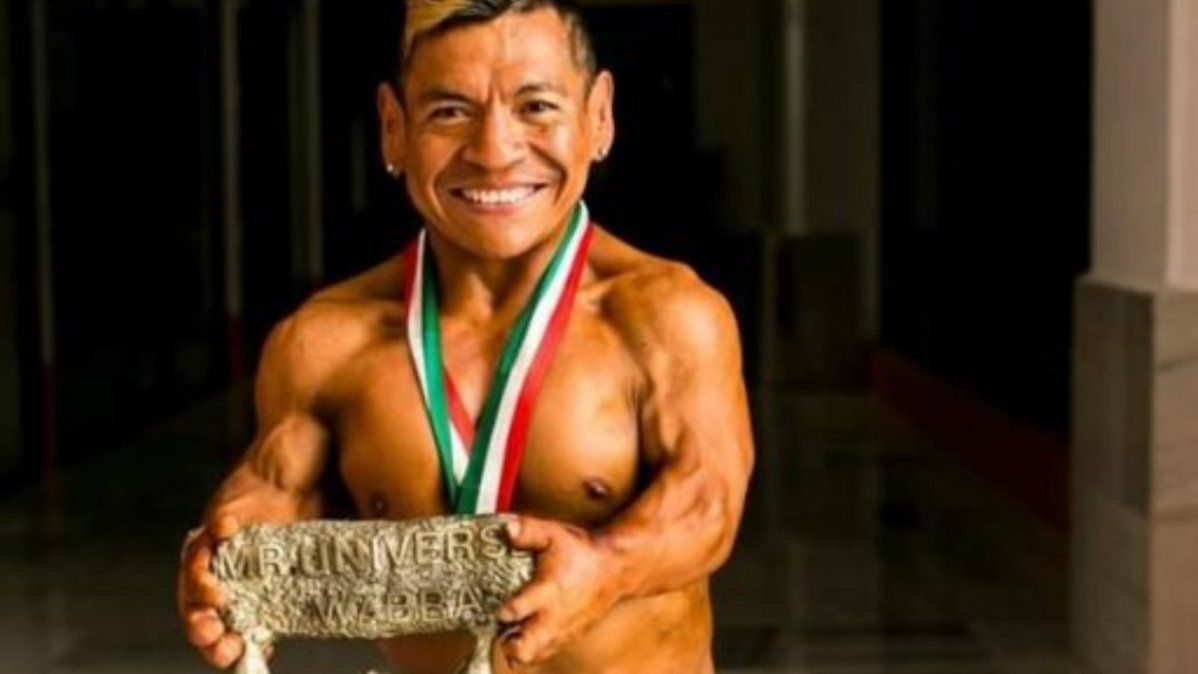 Darío Villarroel, campeón del mundo en culturismo y fitness