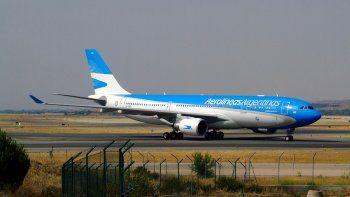 Paro sorpresivo en Ezeiza y Aeroparque