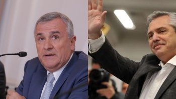 Morales da muestras de un acercamiento con Alberto Fernández