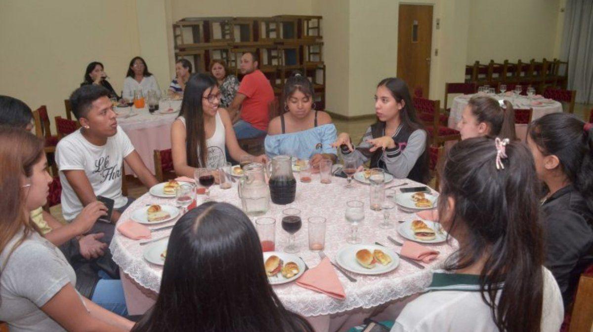 Cena Blanca: Se realizó la degustación de platos