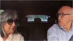 altText(El inédito video de Bianchi y su esposa para los invitados a su fiesta)}