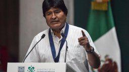 evo morales: dejen de usar las armas contra el pueblo boliviano