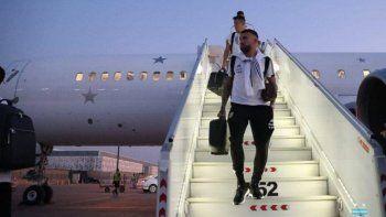 La Selección Argentina llegó a Riad para el amistoso frente a Brasil