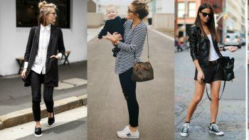 Tips para incluir zapatillas deportivas en looks urbanos