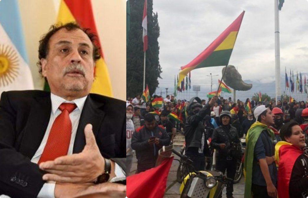 Embajador argentino en Bolivia: no garantizamos la seguridad, recomendamos que no vengan
