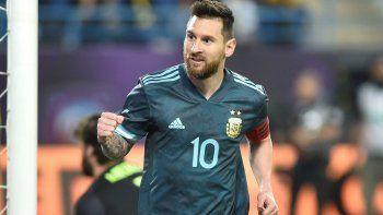 Con gol de Messi, la Selección le ganó el clásico a Brasil
