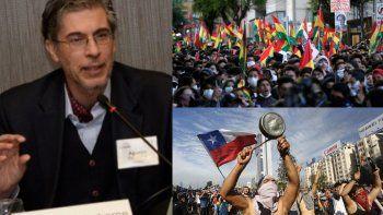 Bolivia y Chile, el colapso de dos modelos distintos