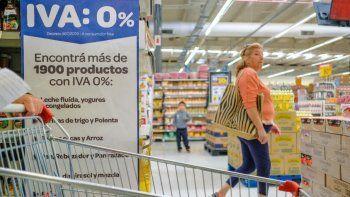 Preocupación por la finalización del IVA 0% y su impacto sobre el precio de los alimentos