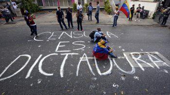 Marchas en Venezuela contra el régimen de Nicolás Maduro