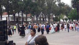los jujenos coparon el rim 20 en la tarde de mates y folklore