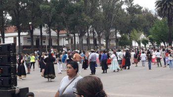 Los jujeños coparon el RIM 20 en la Tarde de Mates y Folklore