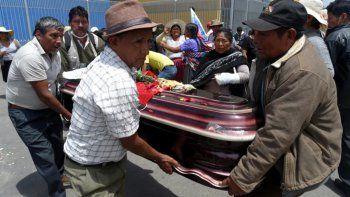 La CIDH contabilizó en al menos 23 los muertos en Bolivia