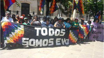 Nuevo pronunciamiento de organizaciones sociales en apoyo a Evo Morales