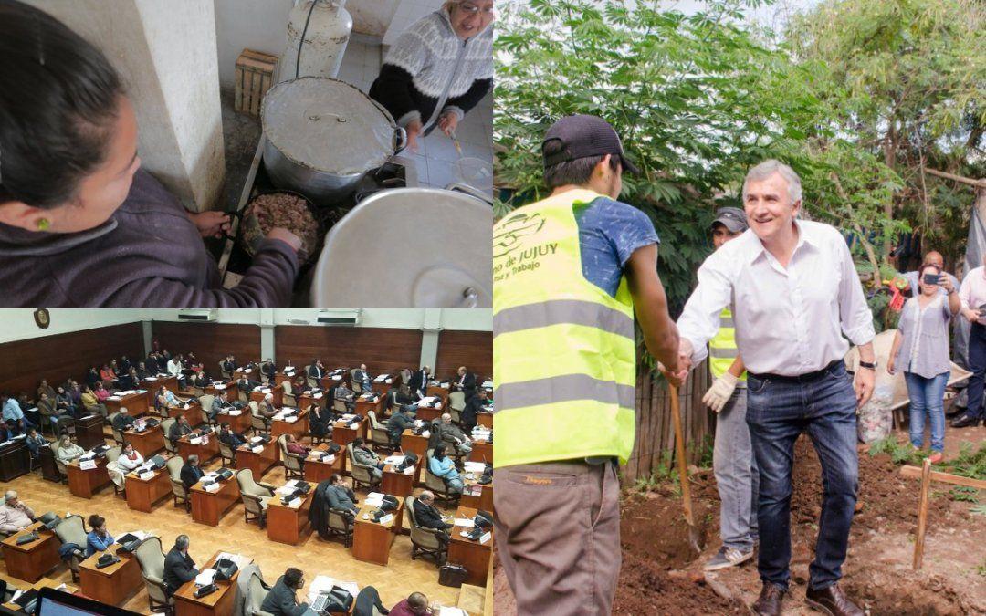 El hambre y los cuestionamientos al plan Jujuy Asiste y Reactiva