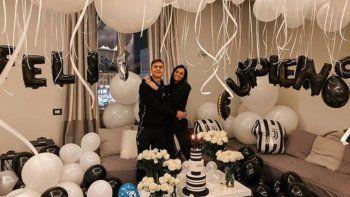 Video: La sorpresa de Oriana Sabatini a Paulo Dybala por su cumpleaños