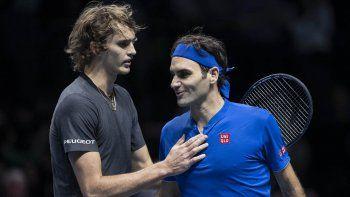 Lo que hay que saber del partido entre Federer y Zverev