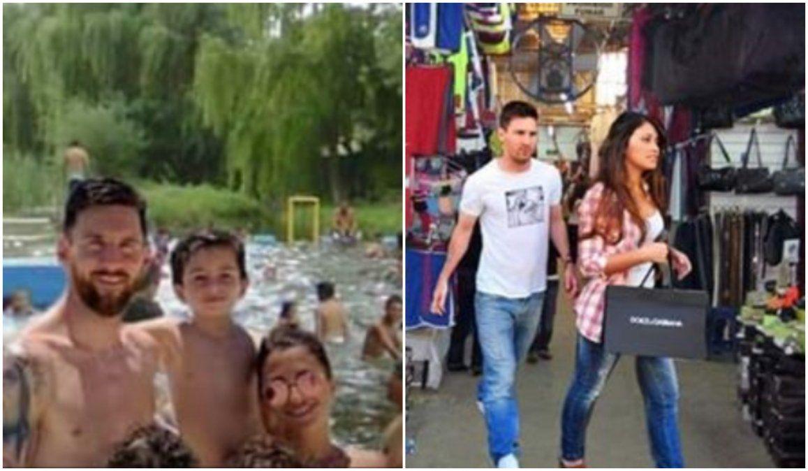 Aparecieron desopilantes memes de Messi y su familia en Jujuy